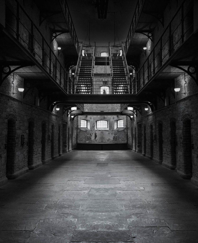 prison, jail, dark